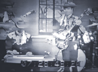 Buddy and Leon on TV in the late 50's